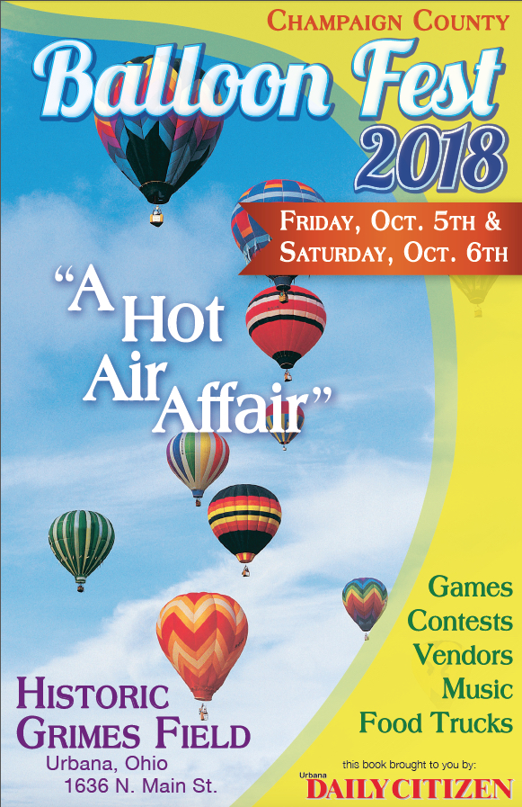 Champaign County Balloon Fest 2018