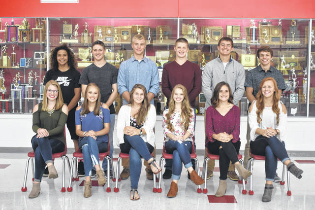 Triad's Homecoming game is at 7 p.m. today against Greenon. The homecoming dance is Saturday, Sept. 22. The Homecoming court is, front from left, Afton Osterholt, Maddie Campbell, Jordyn Unger, Ashley Boggs, Kayleigh Boldman, Brianna Eaton, back from left, Diego Hernandez, Ryland Smiles, Jordan Simonelli, Cam Boes, Riley Louck and Austin Bails.