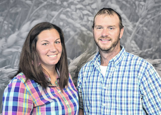 Brandi and Nick Anderson of Mechanicsburg have been named winners of Ohio Farm Bureau's Outstanding Young Farmer Award.