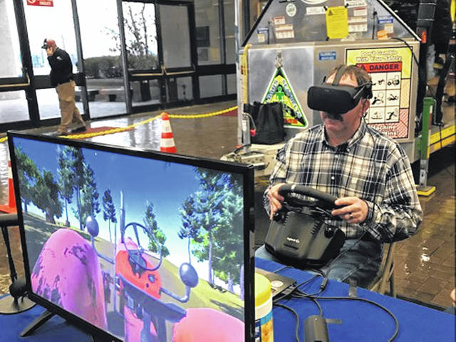 An exhibit at the Farm Science Review will use virtual reality to demonstrate commercial and industrial fall protection systems and practices.
