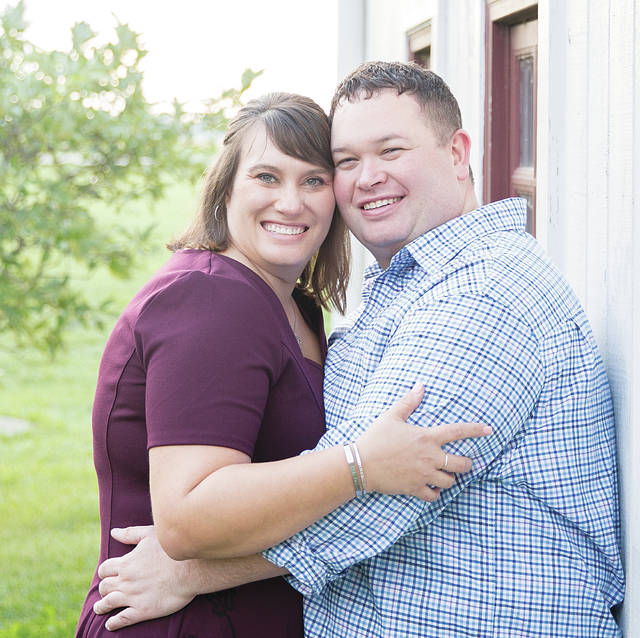 Erin Sauter and Rick Dickert will be married this Saturday, Oct. 20.