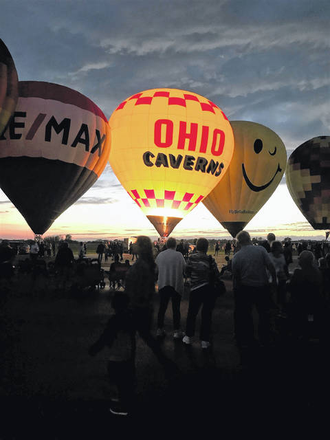 The balloon festival held last weekend at Grimes Field is slated to return in 2019.