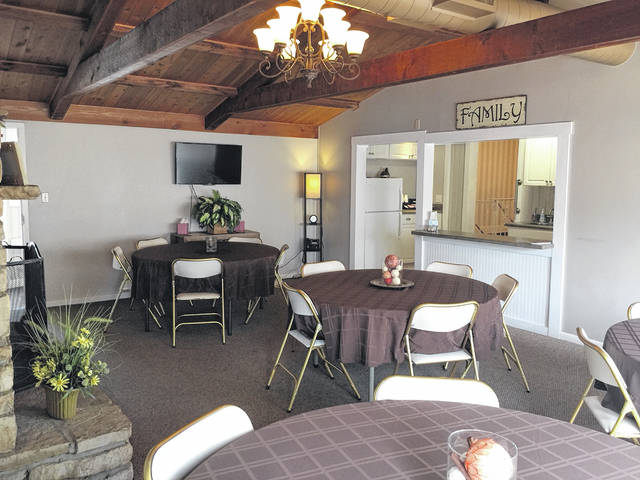 Pictured is the new banquet room at Walter & Lewis.