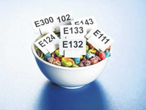 Some synthetic food flavoring additives banned