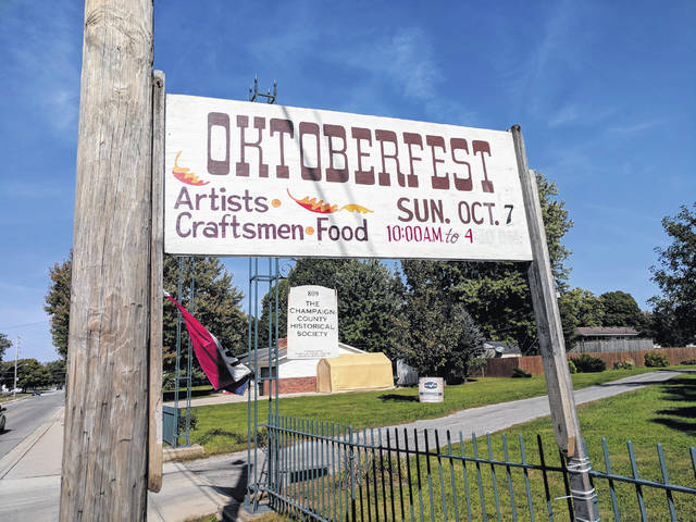 Oktoberfest is scheduled for Sunday, Oct. 7, on the lawn of the Champaign County Historical Society, located on East Lawn Avenue.