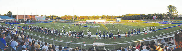 UU Stadium (pictured) will be the site of the Blue Knights' homecoming football game on Saturday, Oct. 6.