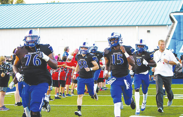 The Urbana University football team will host UVa.-Wise in a homecoming game on Saturday at 1 p.m.
