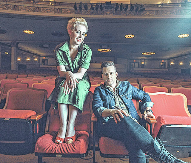 The country duo Thompson Square will entertain with country music on Nov. 17 at the Clark State Performing Arts Center.