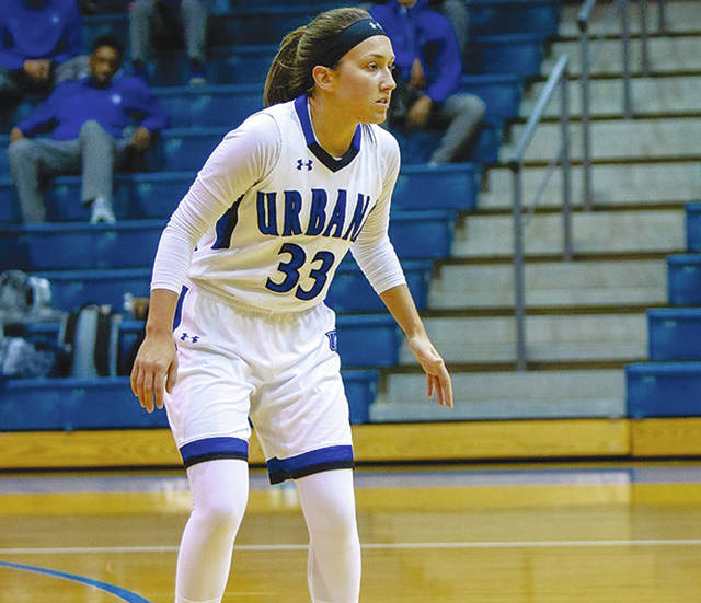 UU senior Megan Beachy (pictured) averaged 9.1 points per game last season. The Blue Knights open the season at home today at 6 p.m. versus Tiffin.