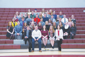 UHS inducts National Honor Society members