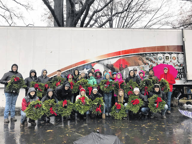 On Dec. 13-15, 2018, 28 members of the A.B. Graham Ohio Hi-Point FFA Chapter traveled to Washington, D.C. to participate in Wreaths Across America at Arlington National Cemetery, showing appreciation for those who served by placing wreaths on over 400,000 headstones. For most of the students, it was the first time experiencing a plane, train and the metro. Members also toured the capital, including the the U.S. Capitol and the Library of Congress. They also met alumni Mikayla Bodey and heard about her experiences working and living in Washington, D.C.