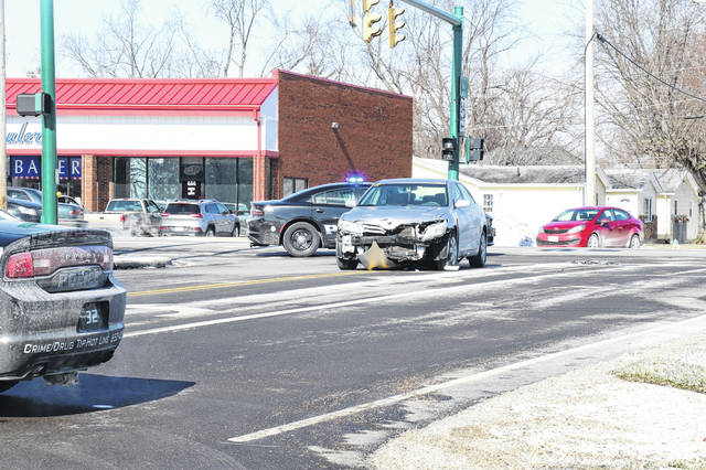 A two-vehicle crash Jan. 25 near Taco Bell in Urbana caused heavy property damage, but no injuries.