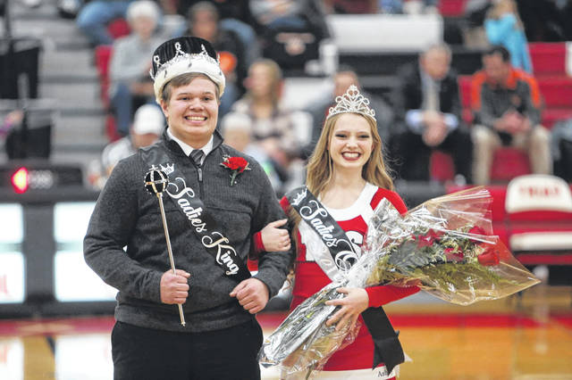 Triad's 2019 Sadie's King and Queen are Dylan Warner and Ashley Boggs.