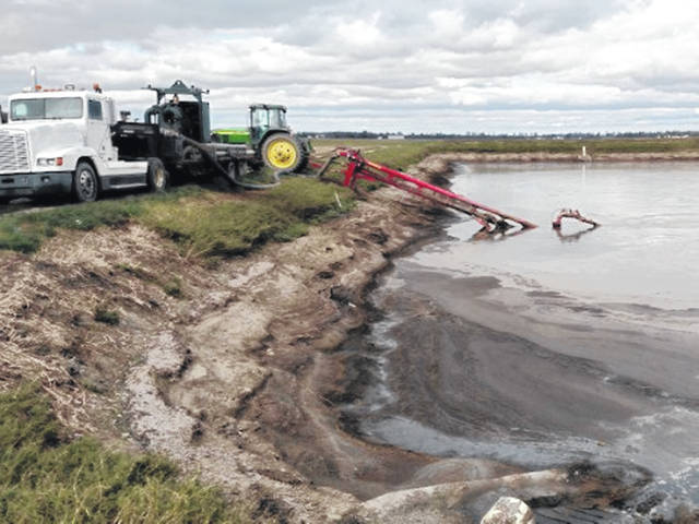 The frequent rain is filling up manure ponds and lagoons across the state.