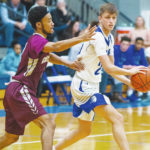 Blue Knight men fall to Concord, 105-79