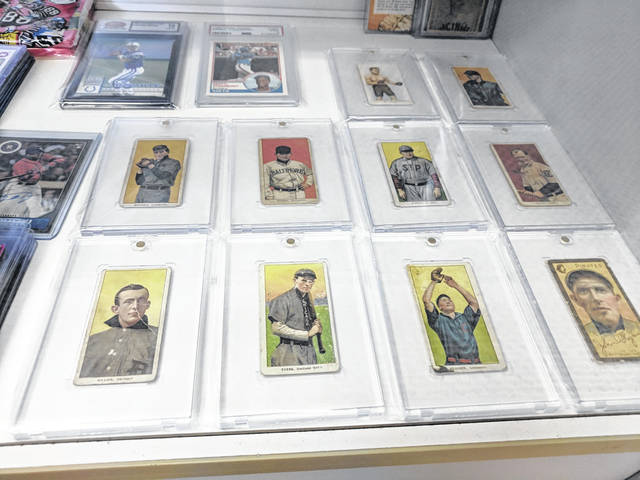 Sideline Sports has a variety of vintage sports cards available and if proprietor Barry Roberts doesn't have it, he may be able to find it for you.
