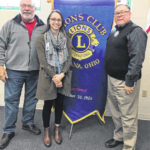 Lions hear from epidemiologist