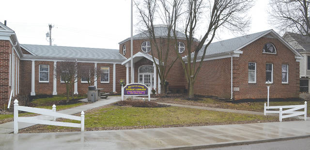 Interior improvements for the Mechanicsburg Public Library will include lighting and carpeting.