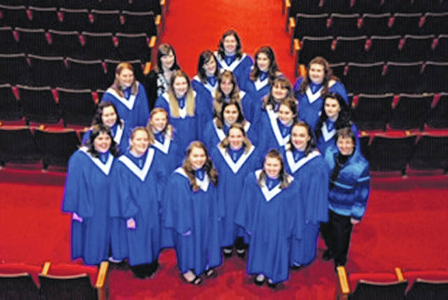 Mount Vernon Nazarene University's Treble Singers Women's Choir will perform at Green Hills Community on March 30.