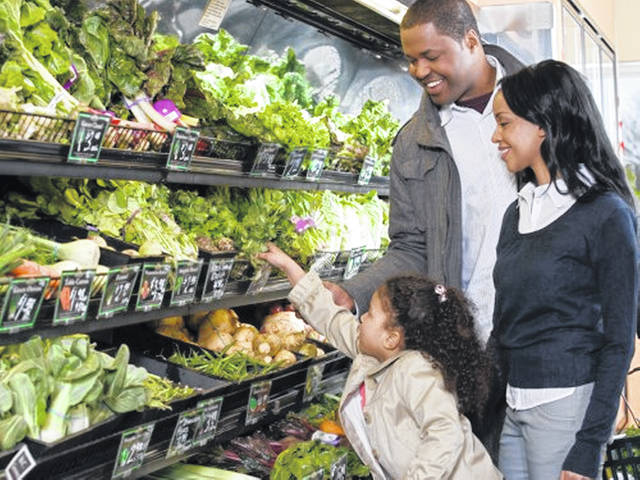 Children whose parents model healthy eating behaviors are more likely to meet recommended daily intake of fruits and vegetables.