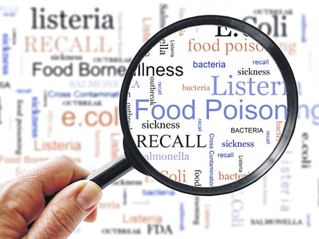 The symptoms and time of onset of food poisoning depend on the type of germ a person has ingested. The most common signs include stomach cramps, upset stomach, nausea, vomiting, diarrhea and fever. Some bacteria, such as Listeria, can cause flu-like symptoms.