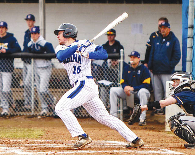 UU's Robbie Guerrero (pictured) hit a home run on Wednesday against visting Cedarville.