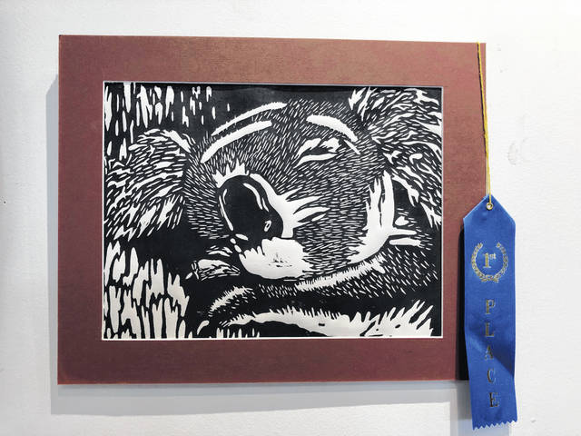 Franni LeVan, Triad, printmaking winner