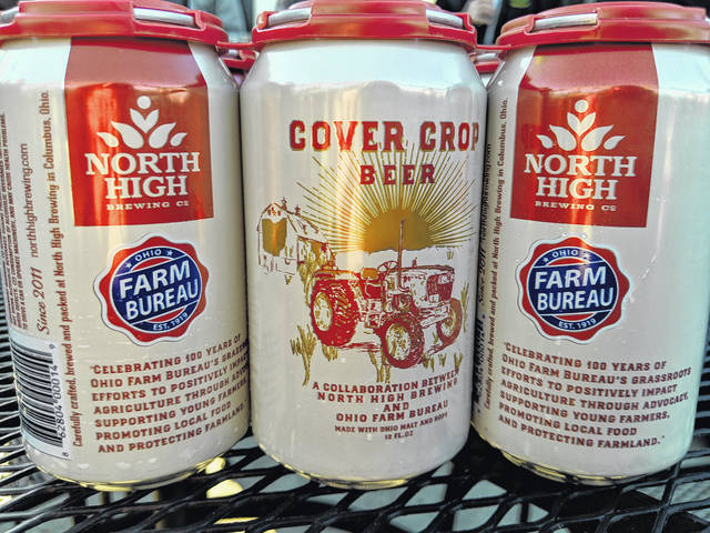 North High Brewing Company's Cover Crop beer was the official beer of the Ohio Farm Bureau Federation's centennial celebration this year.