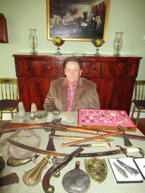 Guest appraiser Greg Shipley has been a passionate collector of early Americana and Native American artifacts over 50 years.