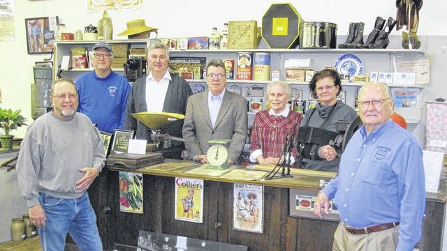 Members of the CCHS Spring Fundraiser Committee include, from left, Larry Headlee, Dr. Dave Smith of Freshwater Farms, Ken Wright, Rob Pollock (chair), Sally Johnson, Beth Adair and Dan Walter.