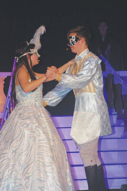 Urbana High School presents Roger and Hammerstein's 'Cinderella' (the Broadway version) today at 7:30 p.m. and Saturday at 2:30 p.m. and 7:30 p.m. The musical, directed by Rusty Myers, features Sydney Mefford as 'Ella' and Jaxton Bloemhard as 'Topher' (pictured). For tickets, call the Urbana choir office at 653-1423. Tickets are $10 for adults and $5 for the matinee performance. Join us for tea with 'Cinderella' after the matinee!