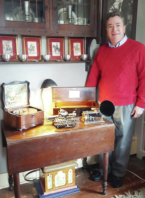 Guest appraiser Rob Pollock has been a collector of Mechanical Music and Business Machines since 1974.