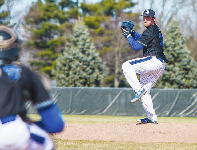 UU's Brandon McRae (pictured) earned the win in Wednesday's 14-5 victory over visiting Wright State-Lake.