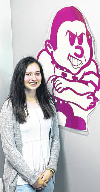 Freshman Gracie Hower is an Urbana High School Student of the Month.