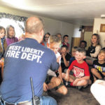 WL-S students learn fire safety from the pros