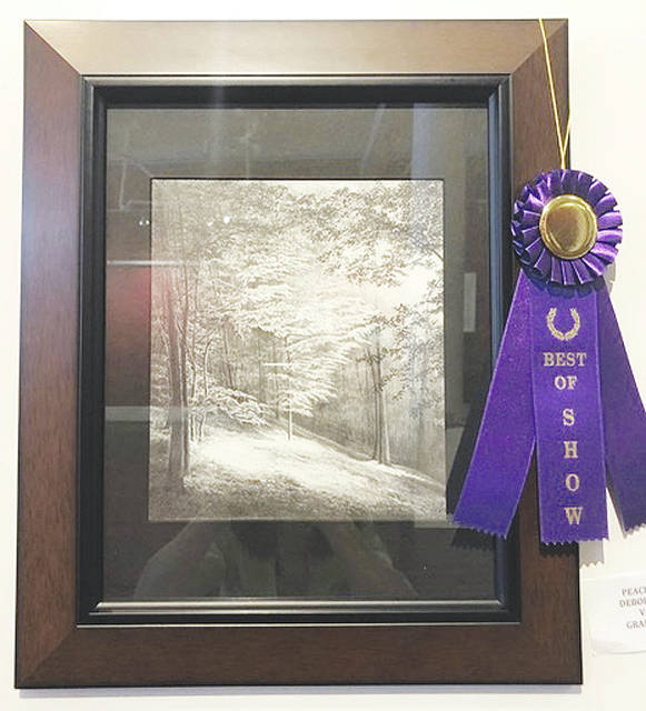 "Best of show: Deborah Whiting Vanhoose, ""Peace and Light"""