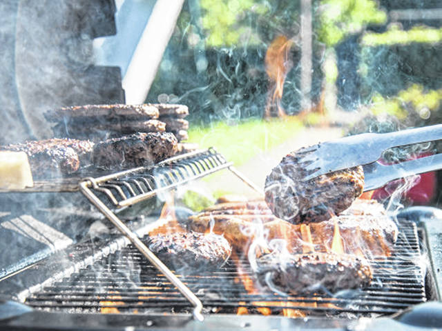 Unlike steaks, hamburgers, and any ground beef meals, should be cooked until they reach an internal temperature of 160 degrees Fahrenheit to help lessen your chance of developing a foodborne illness.