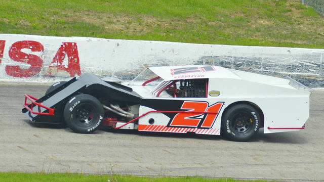 Greg Stapleton of Troy (pictured) won the Hero Series at Shady Bowl last year.