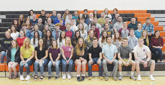 Pictured is the 2019 West Liberty-Salem graduating class.