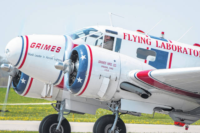 Grimes Field is hosting a fish fry with live music on Saturday from 4:30 to 7 p.m. The event will benefit the Grimes Flying Lab, a test aircraft for navigation lighting and a flying museum, which will be on display Saturday. Weather permitting, the Flying Lab will take flight during the festivities.