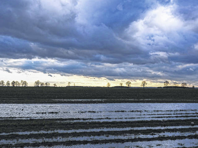 Flooded Ohio fields leave farmers weighing options.