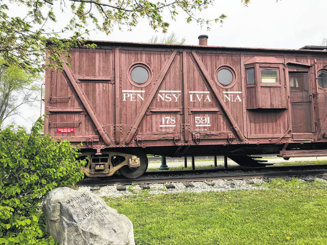 The NX23 caboose is located in the Marion Parks Education Center at the Depot Coffee House, 644 Miami St., Urbana.