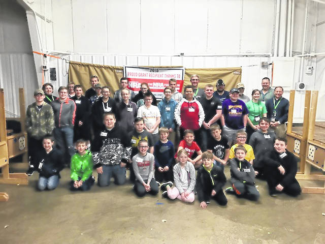The Champaign County Shooting Sports 4H Club, shown here, received $1,849.21 from the National Rifle Association. This money went toward equipment for the club. The club expressed appreciation for the NRA's continued support.
