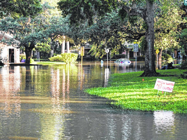 If your home is flooded, any foods that aren't in a waterproof container that came into contact with floodwater need to be thrown out.