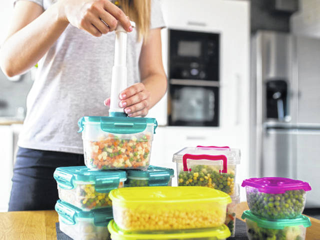 Think about recipes you can make in advance and store in your freezer to thaw for later meals.