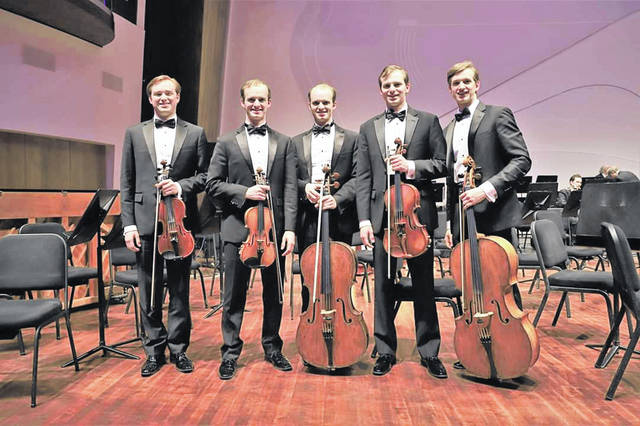 The Shanks String Ensemble of California will join fellow members of the musical Dye Family to perform Aug. 10 in Mechanicsburg.