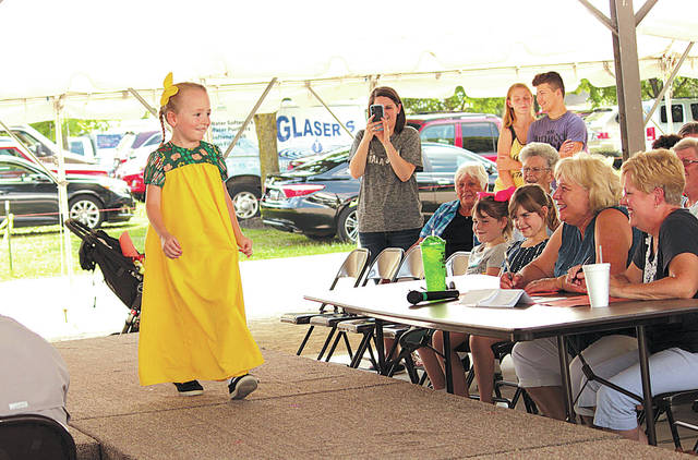 The Homemaker's Style Show at the Champaign County Fair is accepting entries from contestants 18 years of age or over and finished with 4-H. All entries must be modeled by the contestant or other person during the Style Show on Saturday, Aug. 3, at 11:30 a.m. Entries may be made until the day before judging at the Secretary's Office at the fairgrounds. Judging will be at the Extension Office on the Wednesday before the fair. Garments are to be left between 8 and 9 a.m. For more information about the Style Show, visit the Champaign County Homemaker's Style Show Facebook page.