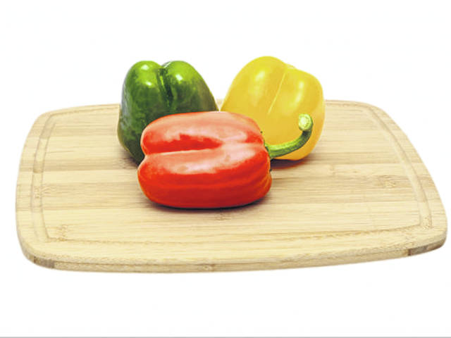 Bell peppers come in a variety of colors and are rich in vitamins and minerals.