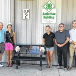 Bench honors Ohio Fairs Queen