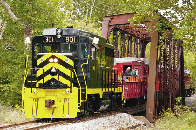 On Oct. 20, a round-trip ride on a vintage train will provide scenic views of the countryside to and from Maitland, west of Springfield.